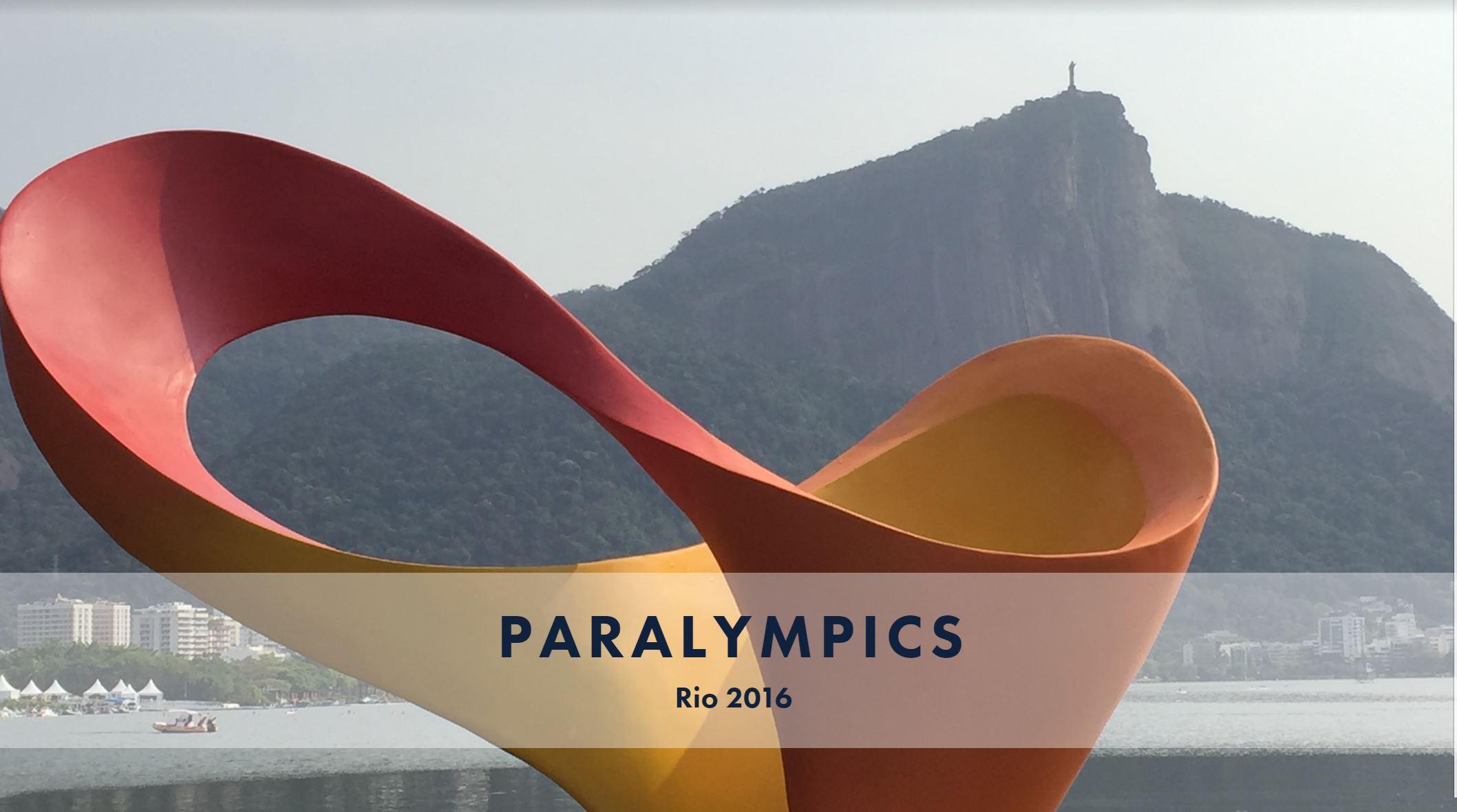 Rio 2016 Paralympics!