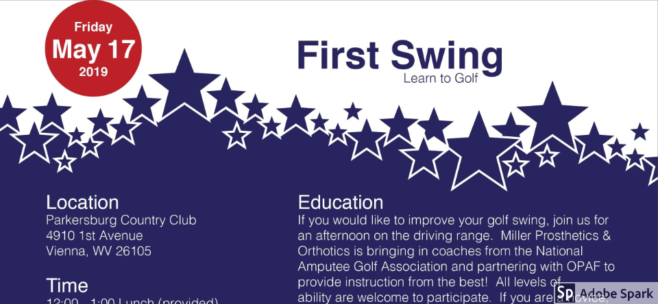 First Swing Golf Event